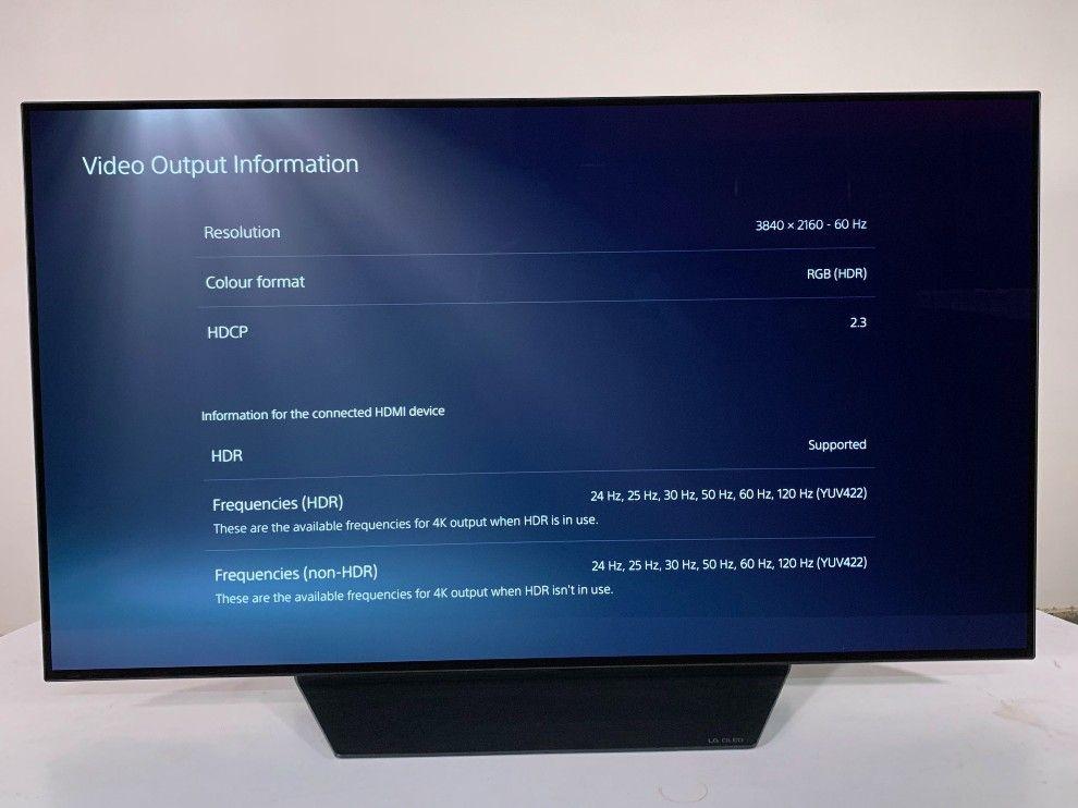 Detalles del televisor 4k HDR del LG CX.