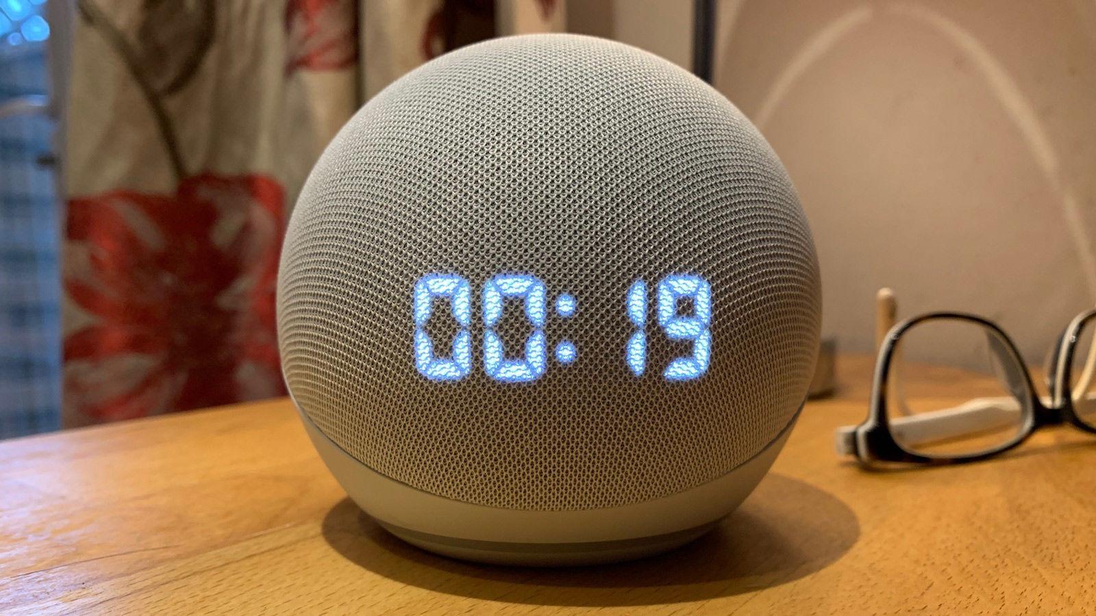 Ofertas de Echo Dot con reloj