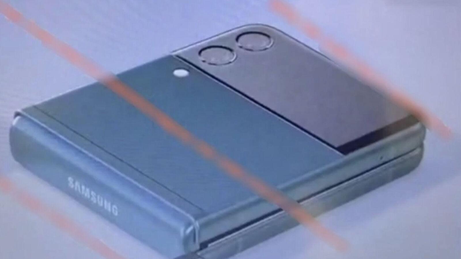 Galaxy Z Flip 3 fuga de un solo ángulo |  Universo de hielo