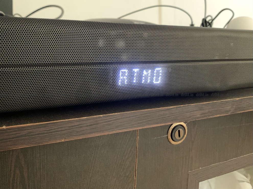 La barra de sonido admite la decodificación Dolby Atmos.