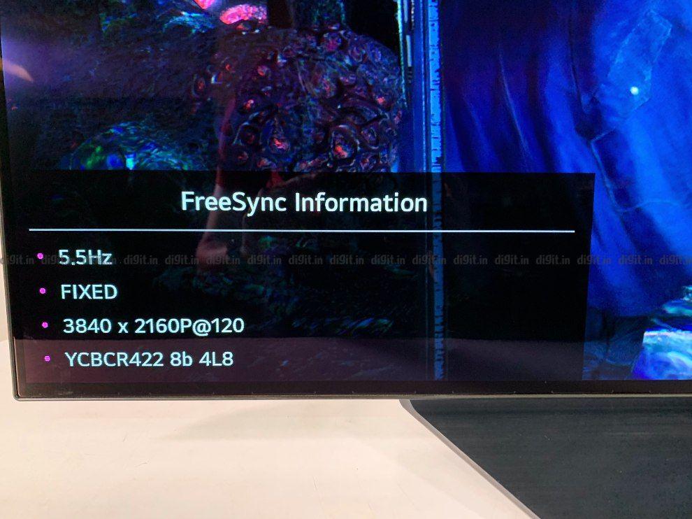 LG CX puede jugar juegos en 4K a 120Hz.