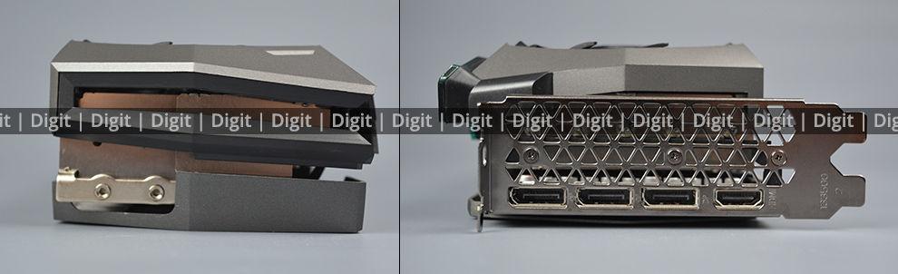 ZOTAC RTX 3080 Ti AMP Holo Ports and Sides