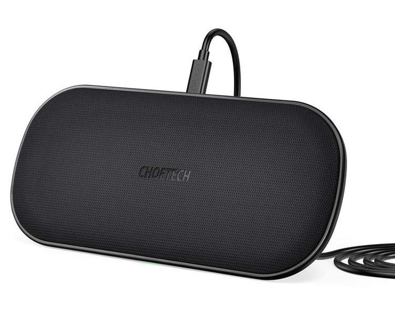 Choetech Dual Fast Wireless Charger