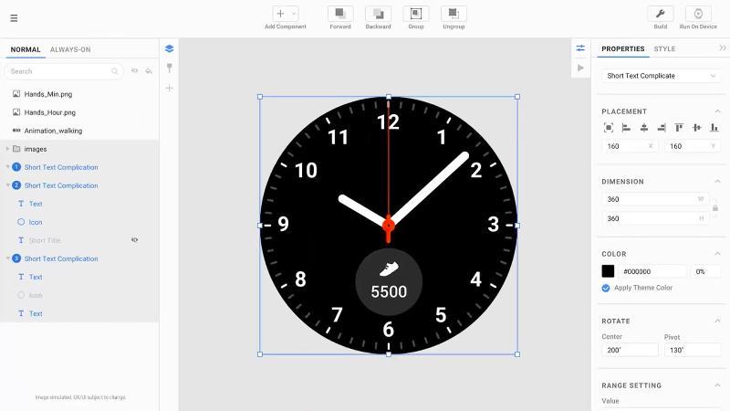 Reloj Samsung MWC One UI
