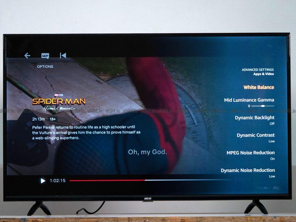 El Akai TV puede reproducir contenido en 1080p SDR.