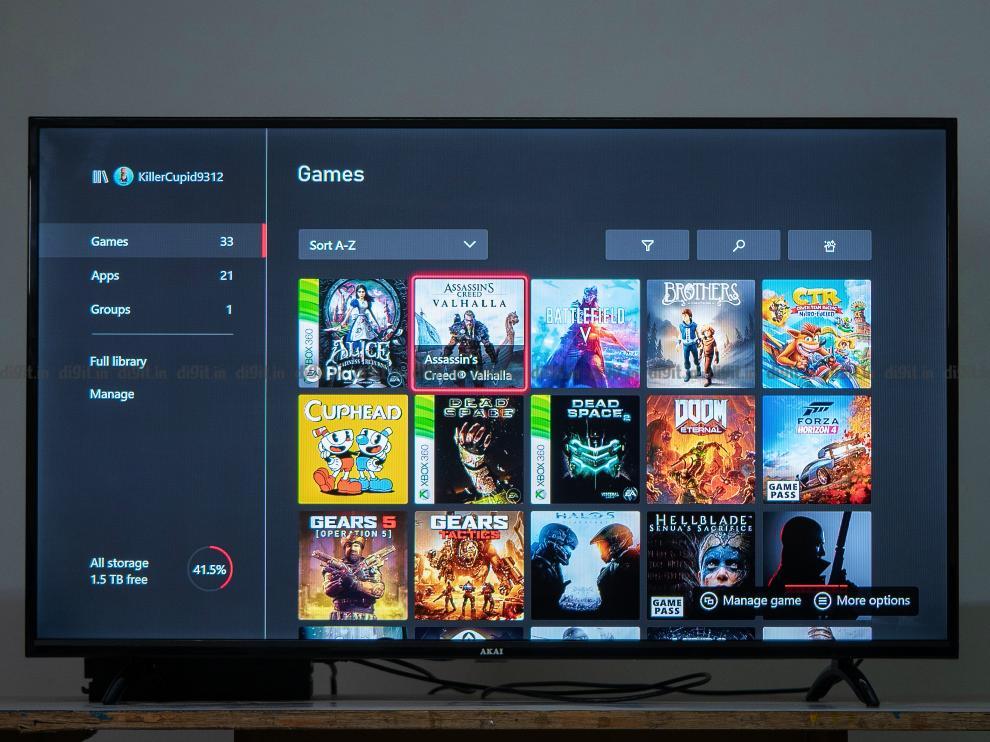 El televisor Akai FHD de 43 pulgadas tiene un modo de juego.