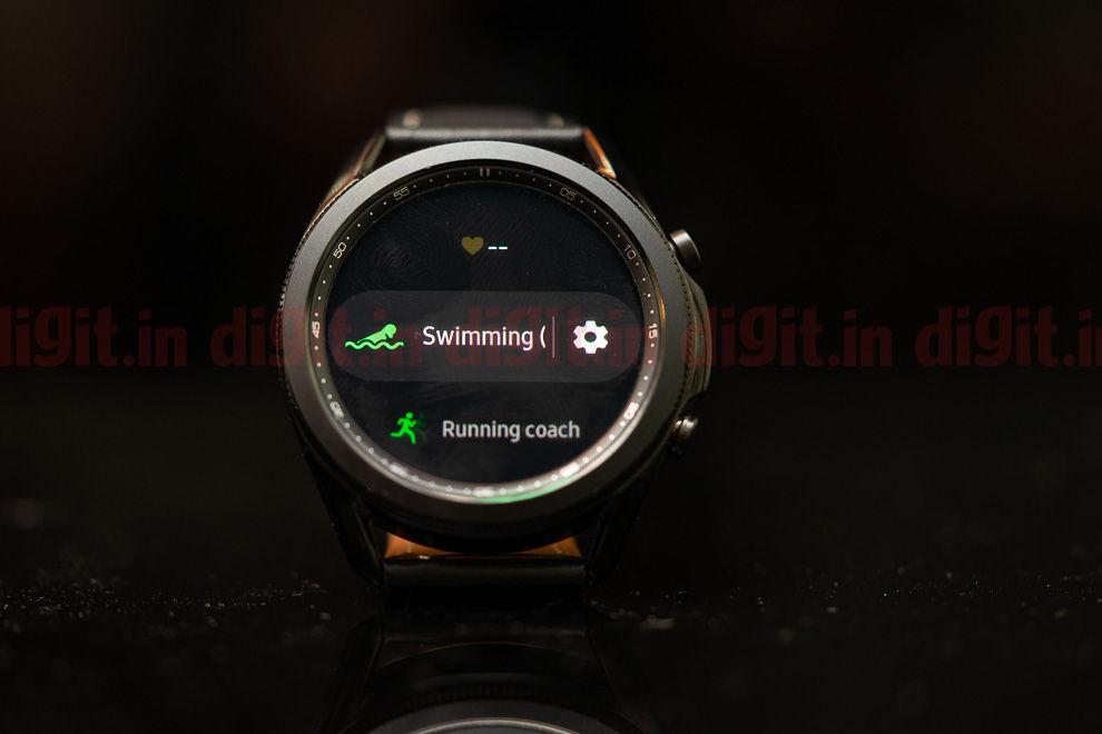 El Samsung Galaxy Watch3 viene con la capacidad de rastrear 40 tipos de entrenamientos