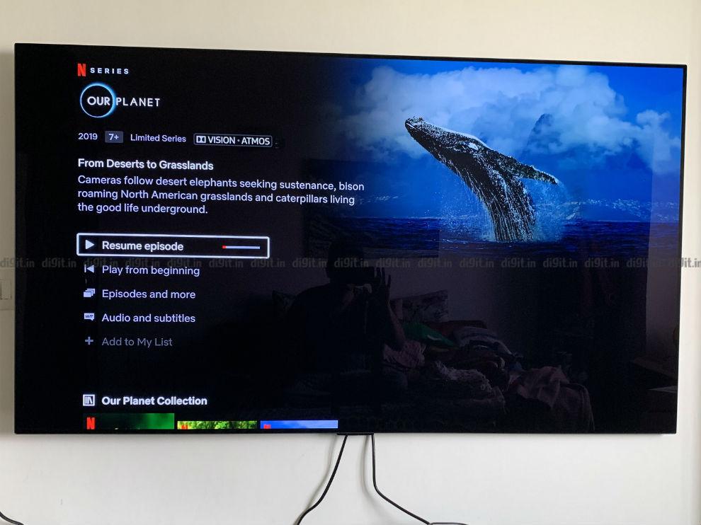 El LG GX es compatible con 4K, HDR, Dolby Vision y Dolby Atmos.