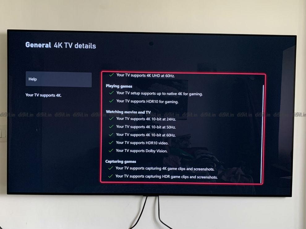 El LG GX es compatible con HDMI 2.1.