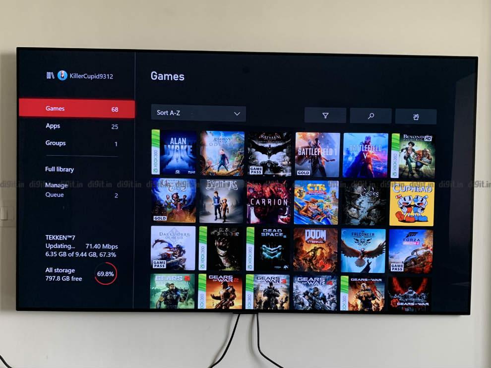 El LG GX es un gran televisor para juegos.