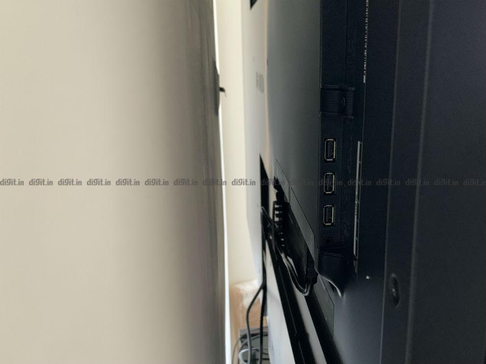El LG GX tiene amplias opciones de conectividad.
