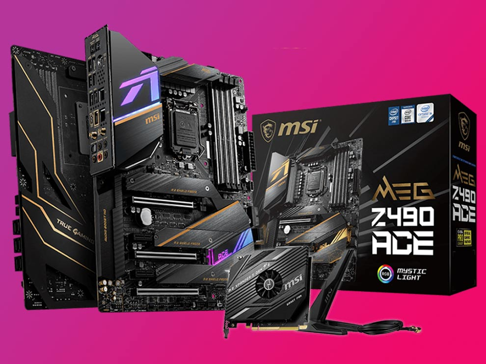 MSI MEG Z490 ACE Motherboard Intel Comet Lake