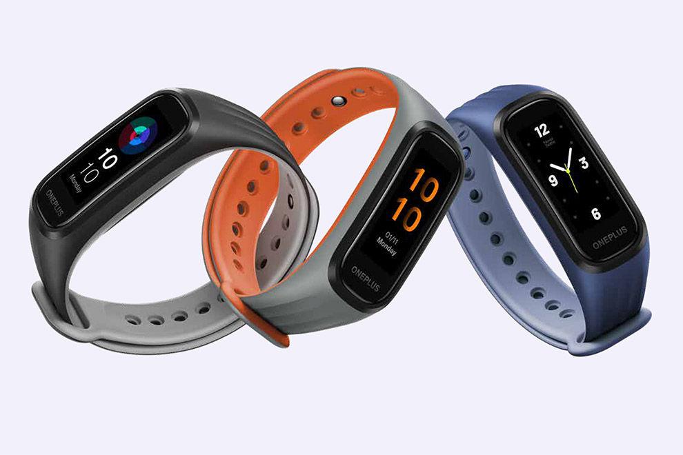 La OnePlus Band viene en tres atractivos colores