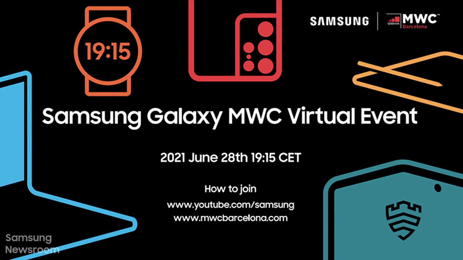 Póster teaser del Samsung MWC 2021
