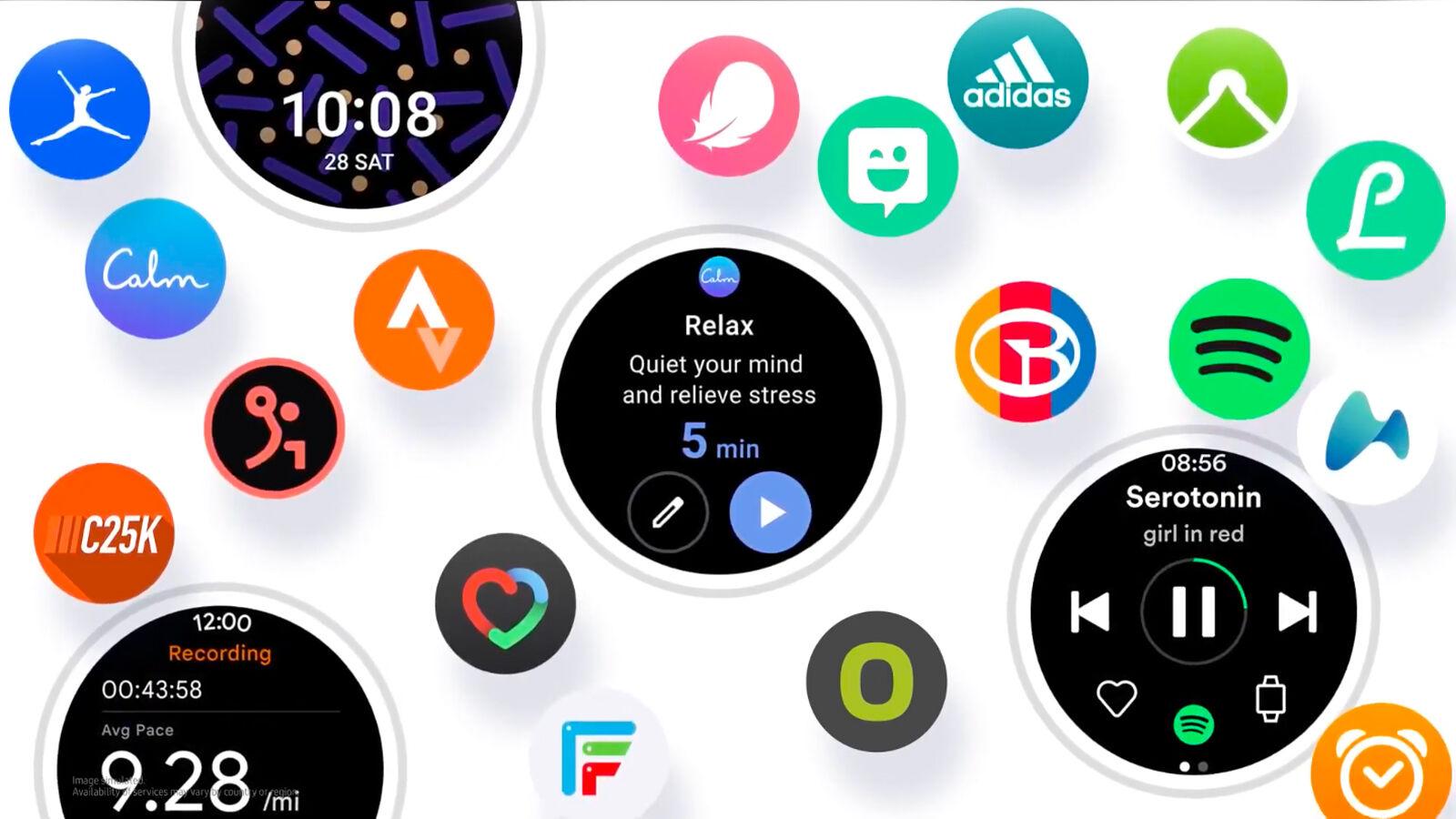 Reloj Samsung One UI