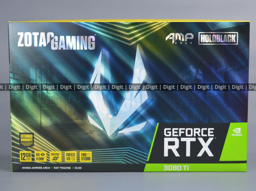 ZOTAC RTX 3080 Ti AMP Holo Retail Package