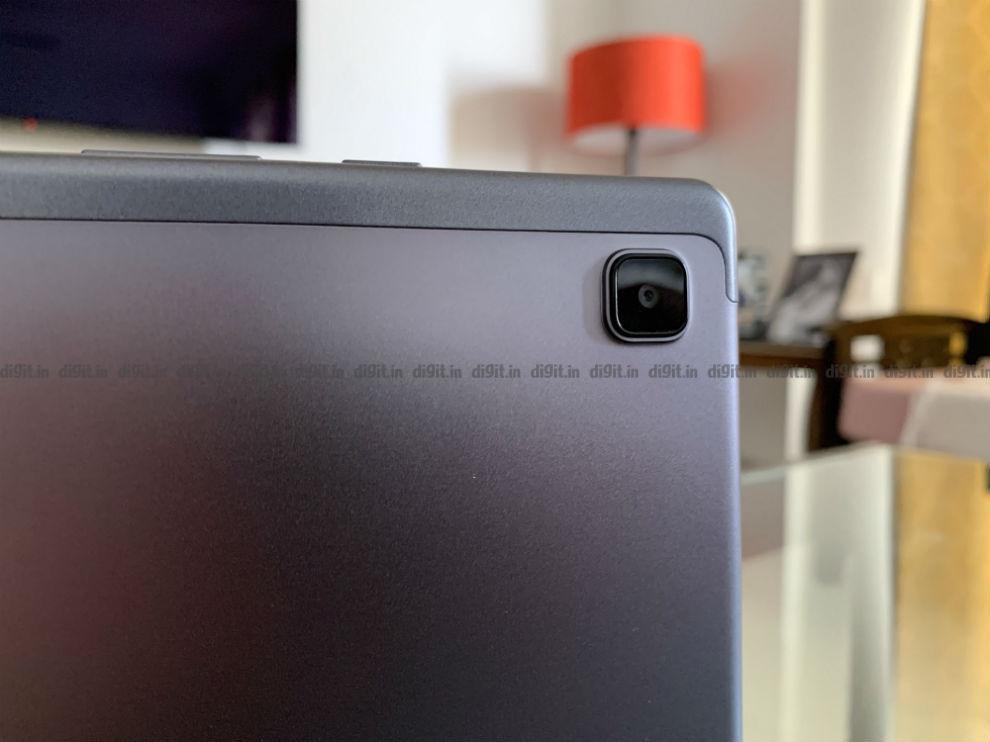 El Samsung Galaxy Tab A 7 tiene una sola cámara en la parte trasera