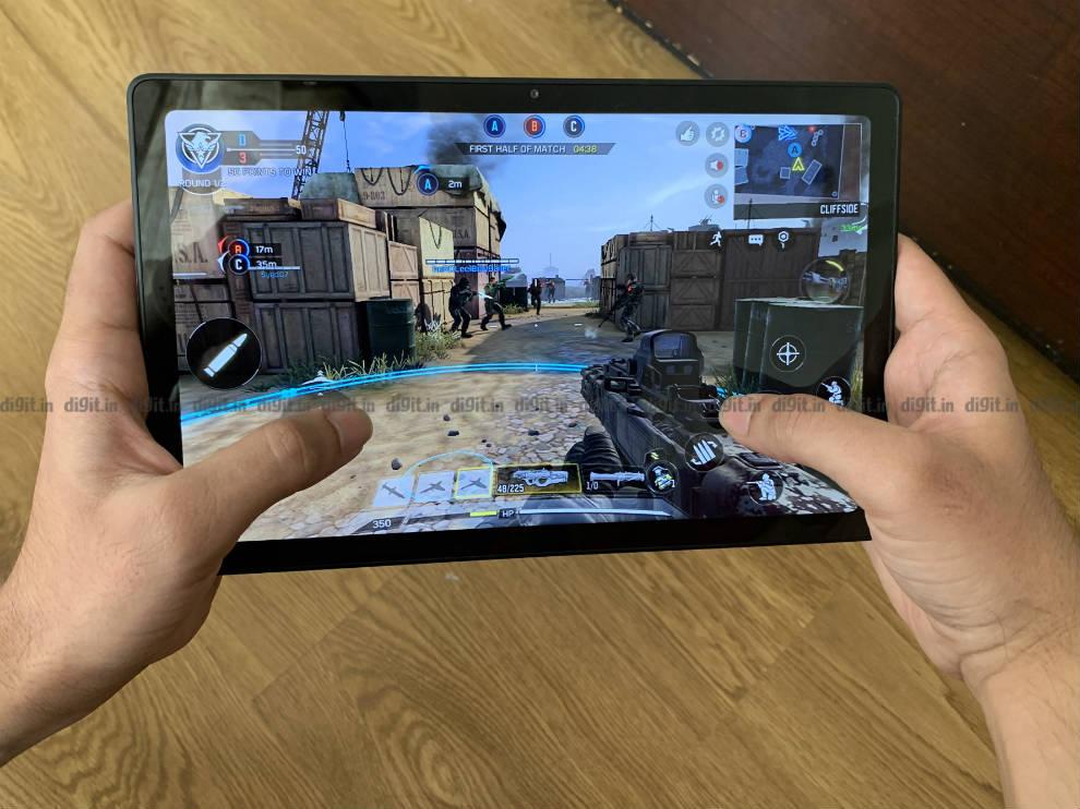 El Samsung Galaxy Tab A7 puede jugar bien