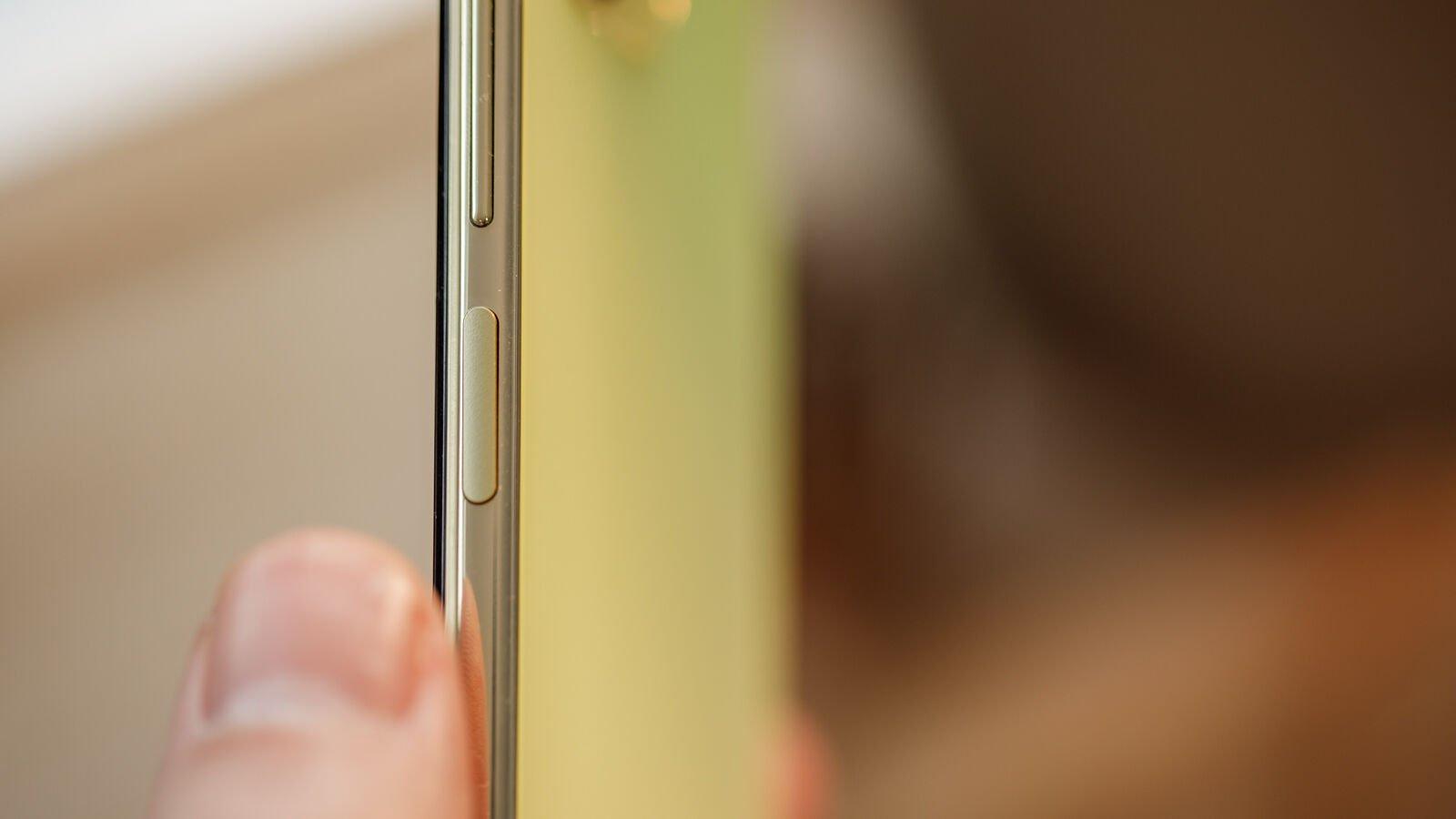 Xiaomi Mi 11 Lite 5G fingerprint sensor