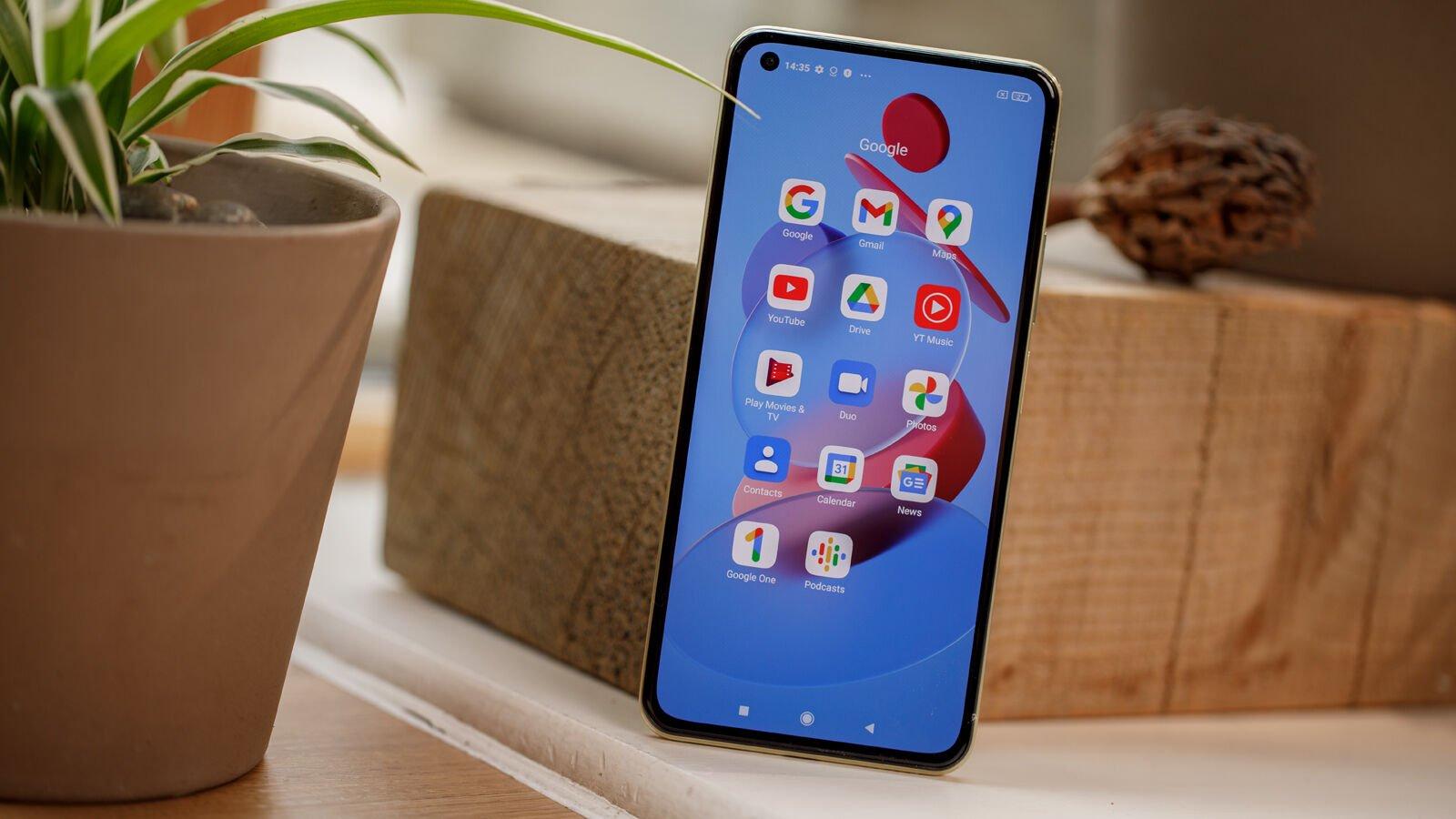 Xiaomi Mi 11 Lite 5G Google apps