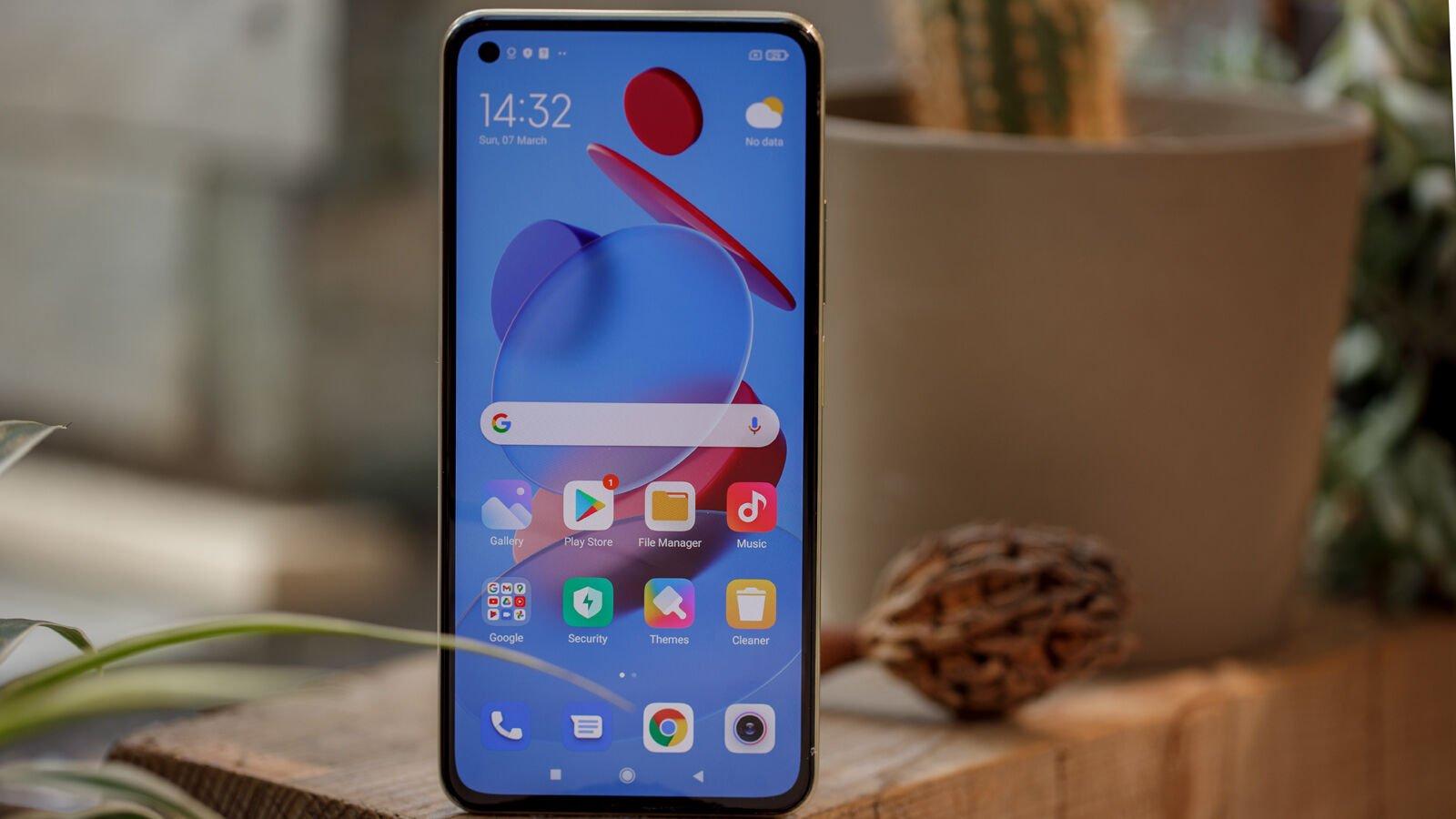 Xiaomi Mi 11 Lite 5G front