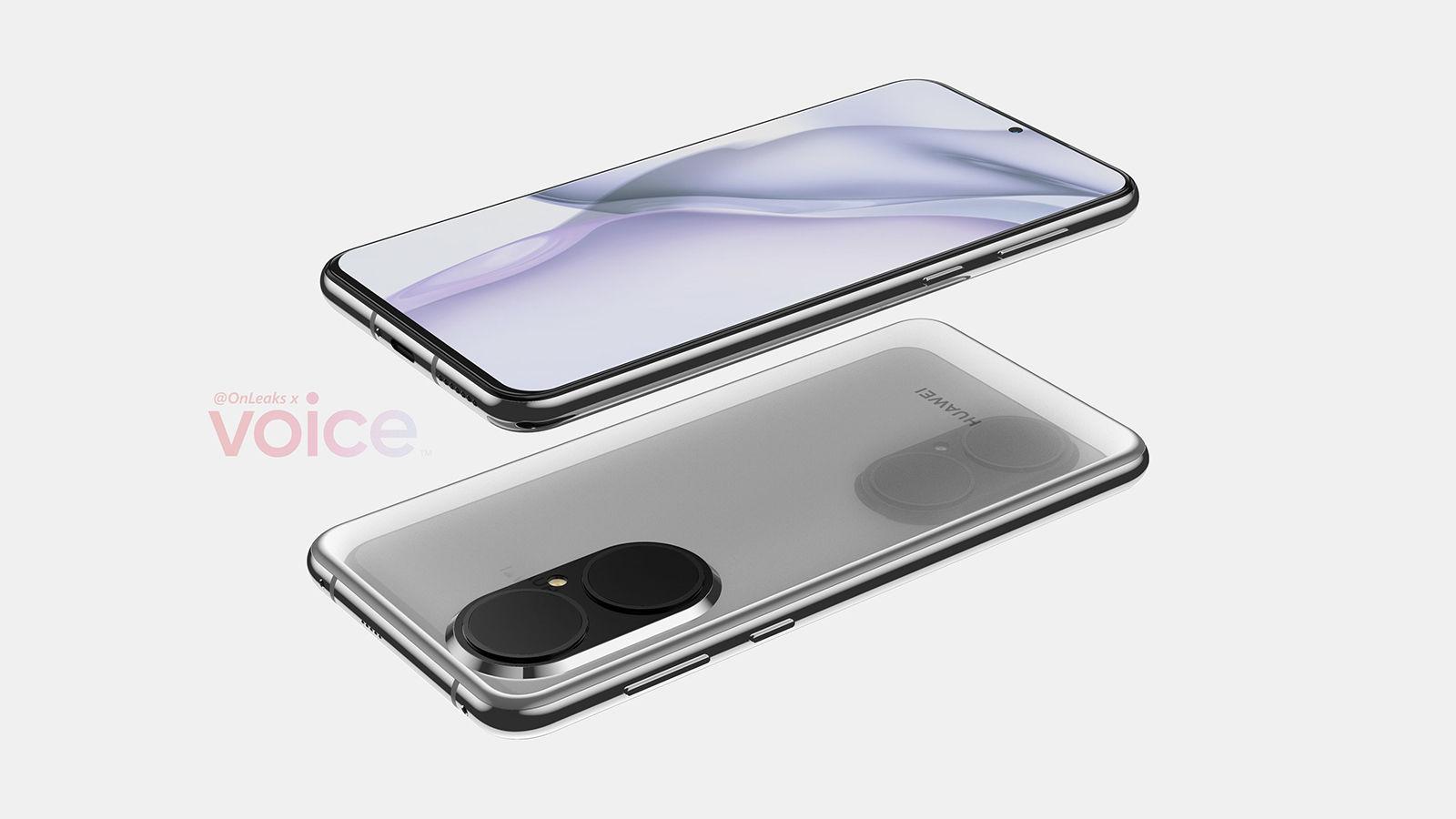Huawei P50 liquid lens leak horizontal | Source: OnLeaks via Voice