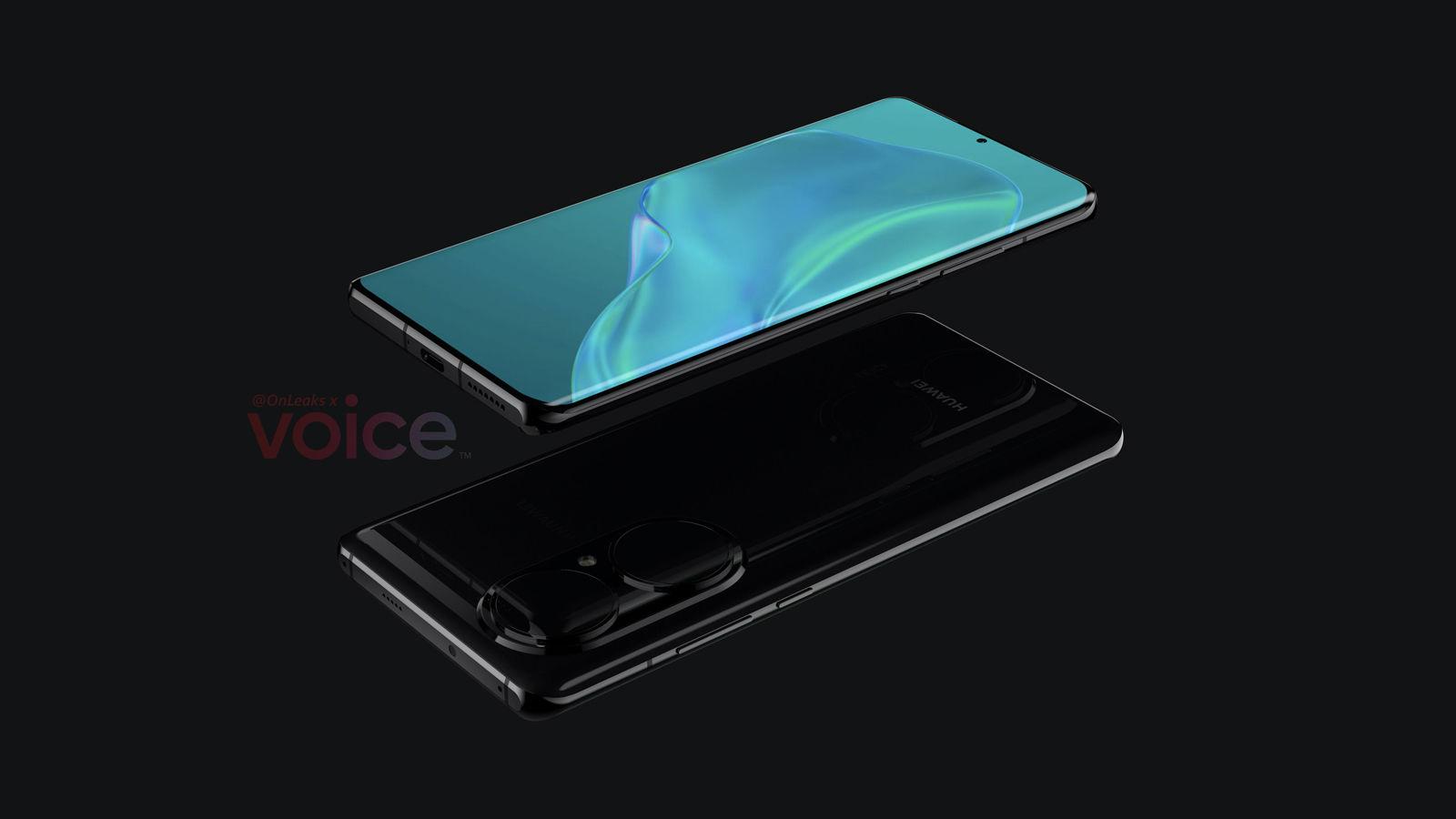 Huawei P50 Pro liquid lens leak horizontal | Source: OnLeaks via Voice
