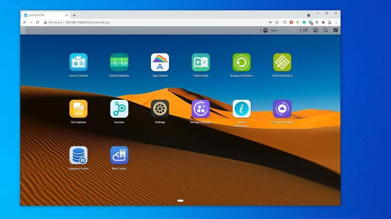La nueva interfaz del sistema operativo ADM 4.0 es elegante