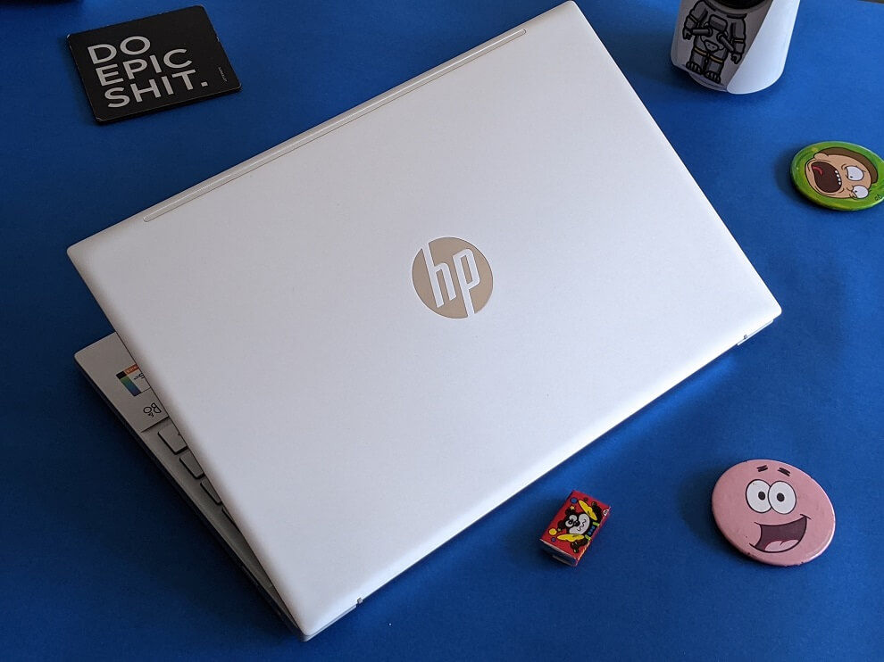 The HP Pavilion 13 has a solid build quality.