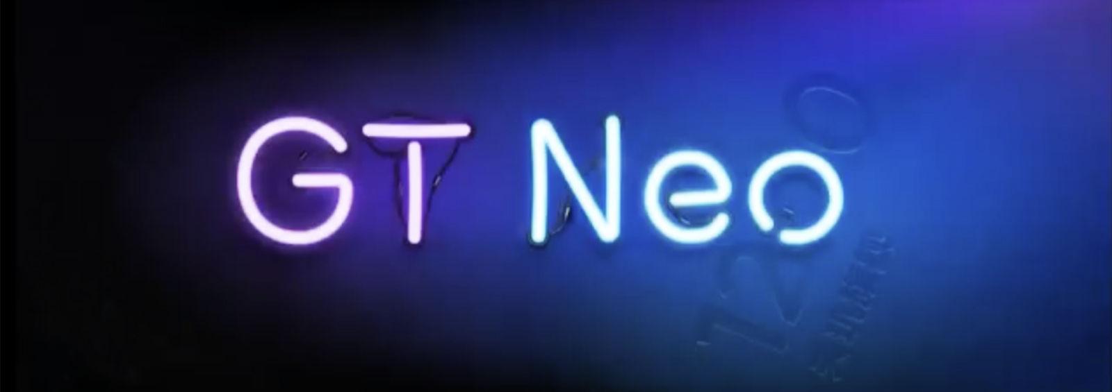 Realme GT Neo teaser image