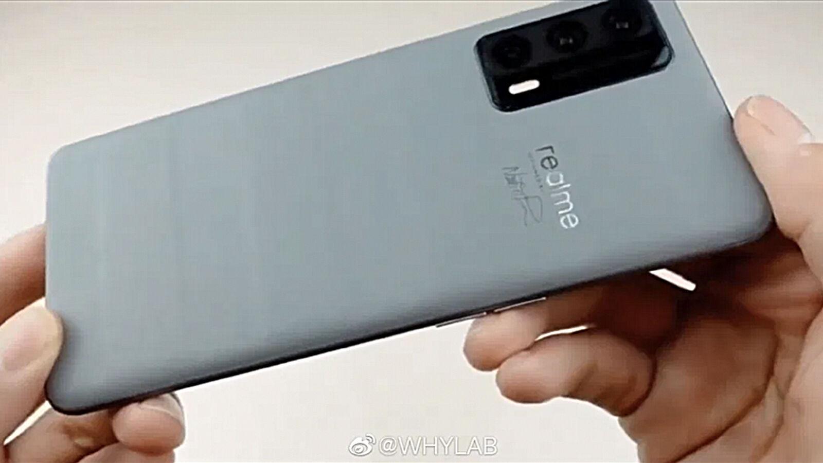 Realme X9 Pro Master Edition leak back close Source WhyLab Weibo