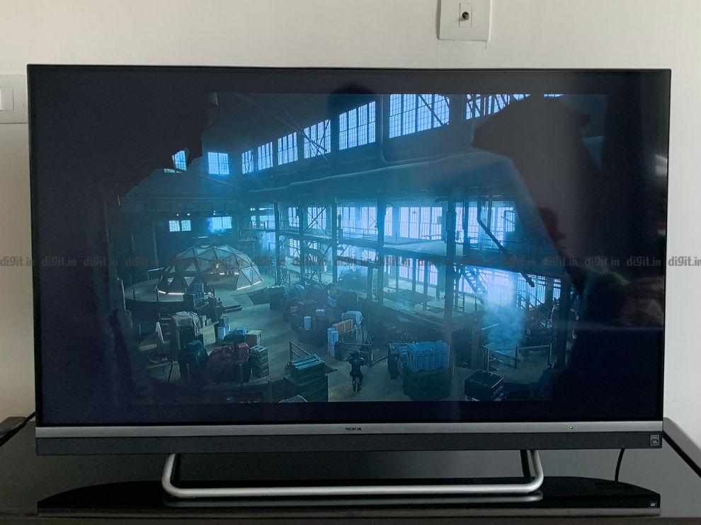 Contenido SDR en el televisor Nokia de 43 pulgadas