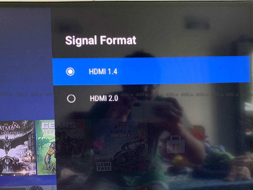 Puede controlar la configuración de HDMI 1.4 y 2.0 en el televisor Nokia de 43 pulgadas.