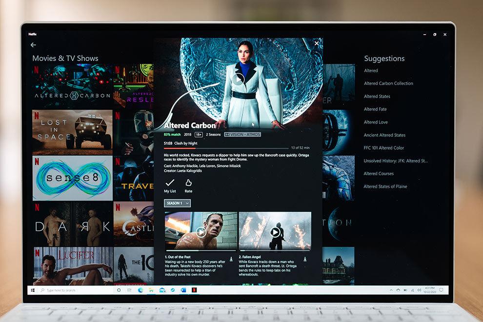 El Dell XPS 13 ofrece un panel 4K que admite la reproducción de contenido HDR10 y Dolby Vision