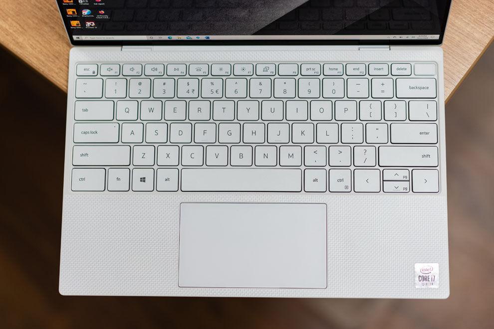 El teclado Dell XPS 13 ofrece una de las mejores experiencias de escritura de su clase