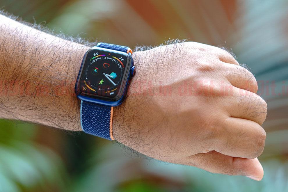 El Apple Watch Series 6 ofrece un nuevo sensor de SpO2 emparejado con el nuevo S6 SiP
