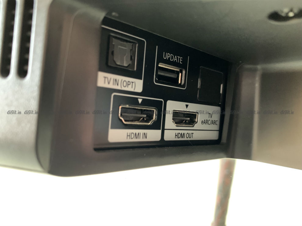 The Sony HT-G700 supports HDMI passthrough