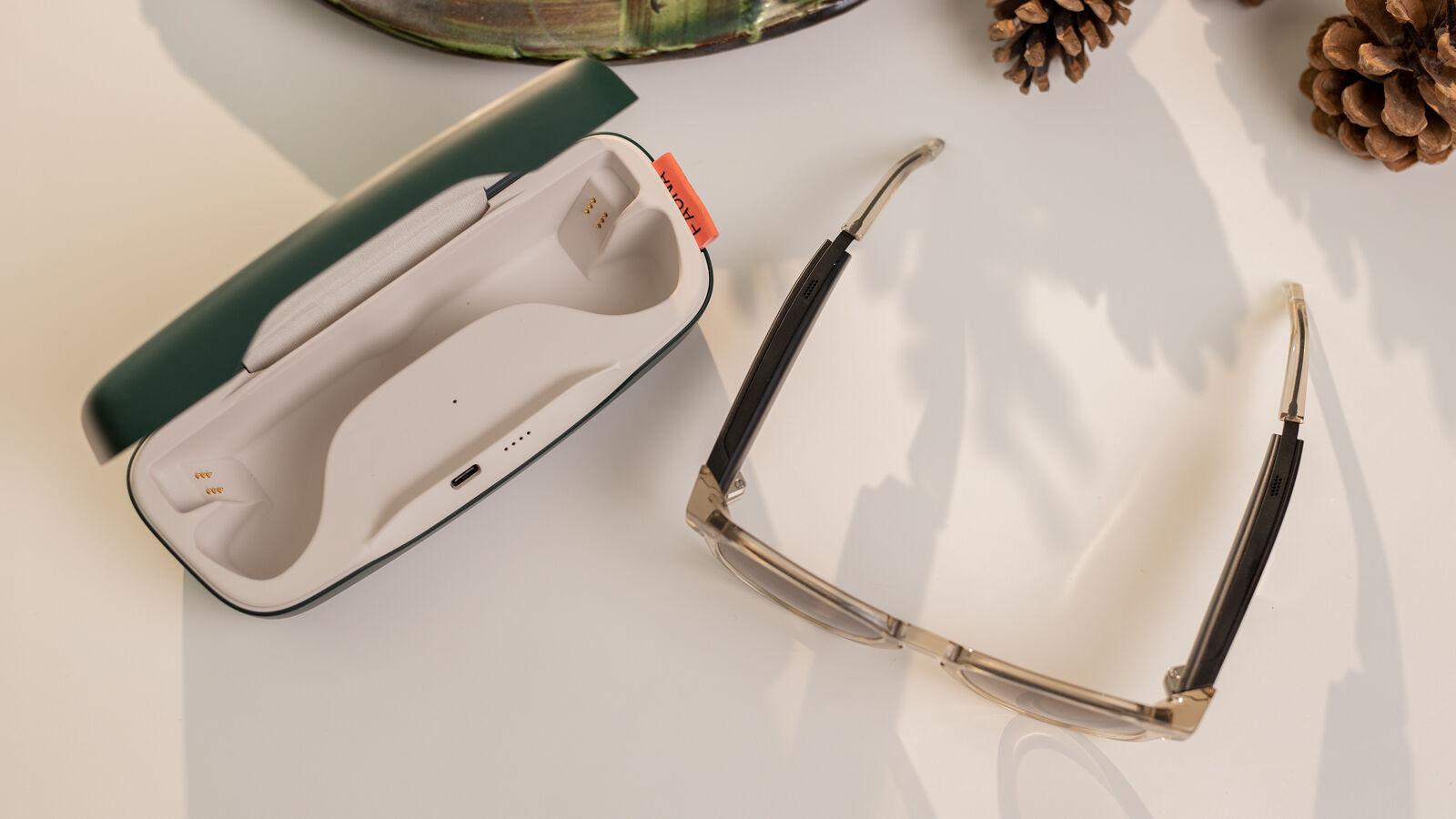Gafas de fauna con audio
