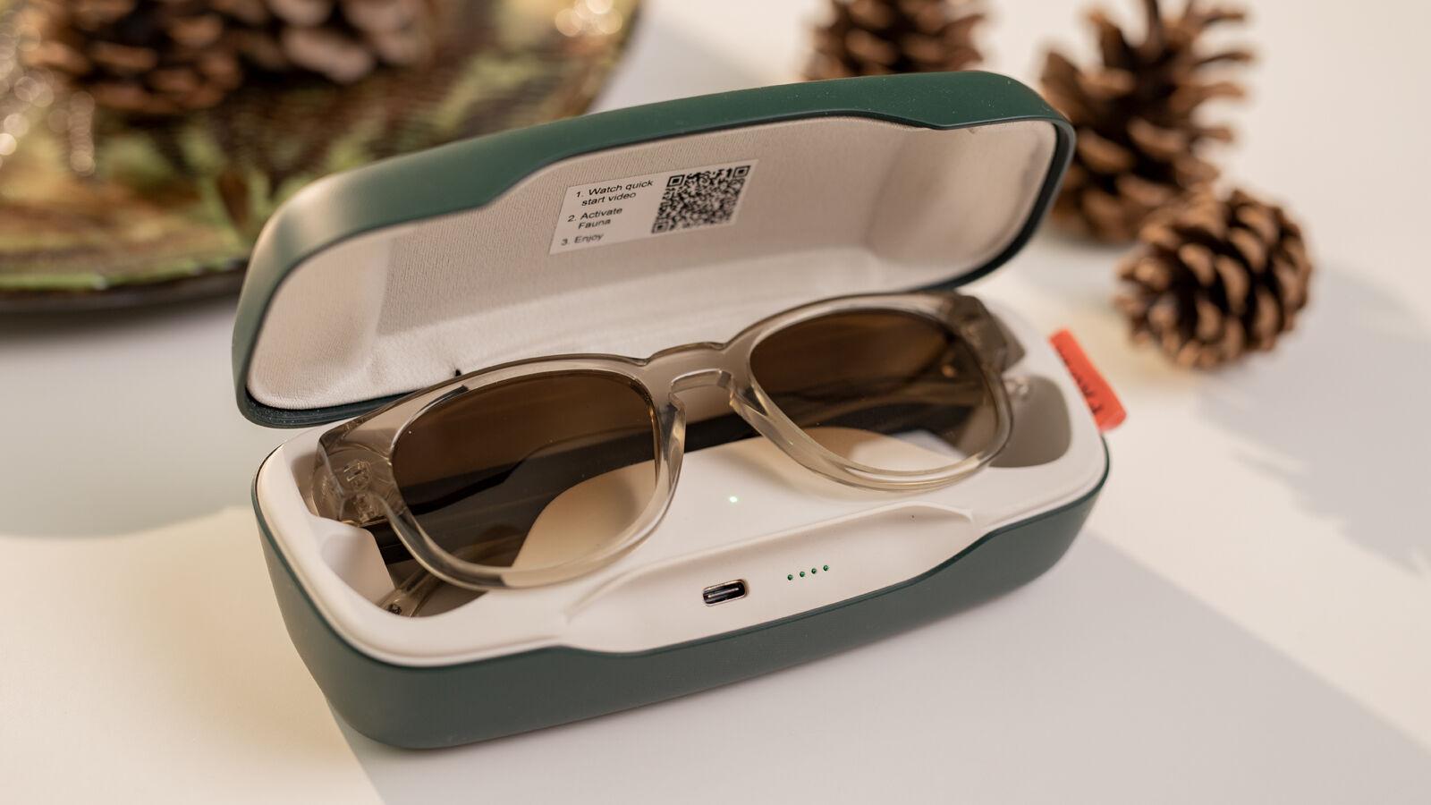 Estuche de carga Fauna Audio Glasses