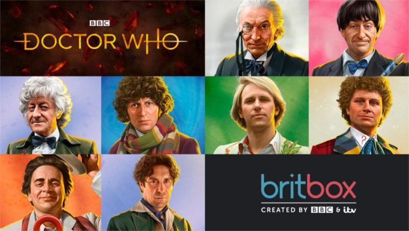 Cómo transmitir el clásico Dr Who: Britbox