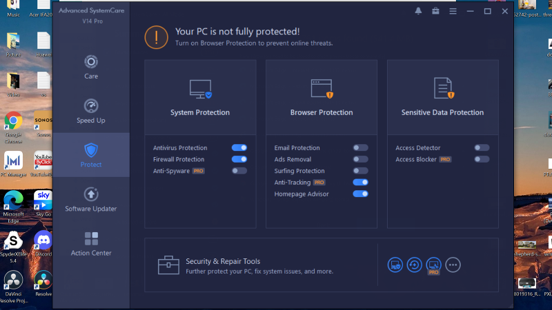 IObit Advanced SystemCare 14 Pro Protect