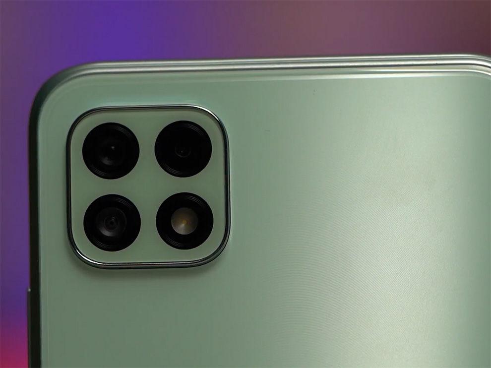 Samsung galaxy A22 5G obtiene 3 cámaras.