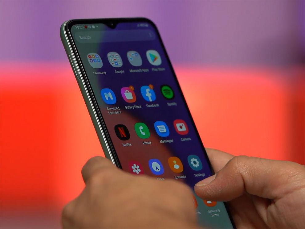Galaxy A22 5G ofrece One UI 3.1.
