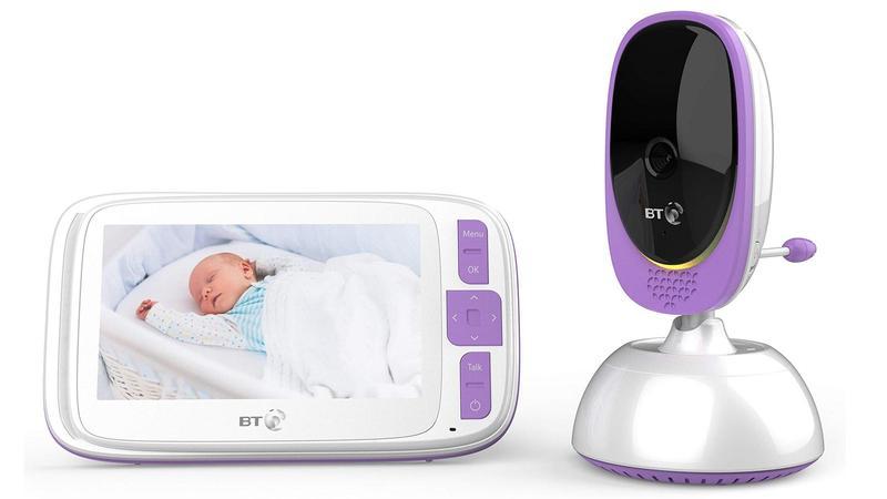 BT Smart Baby Monitor con pantalla de 5 pulgadas