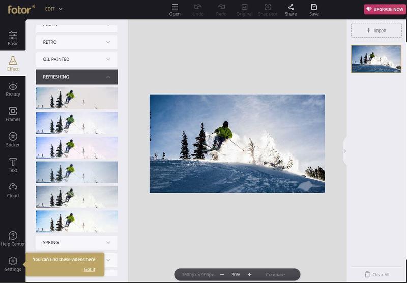 Fotor Photo Editor y Design Maker
