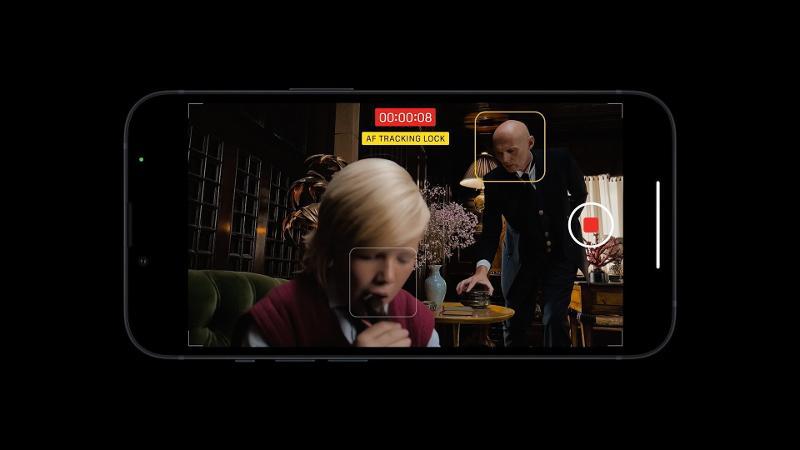 Modo cinemático del iPhone 13