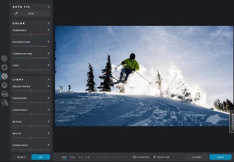 Editor de fotos Pixlr